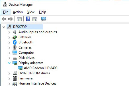 Device Manager HP